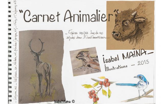 Carnet Animalier, couverture