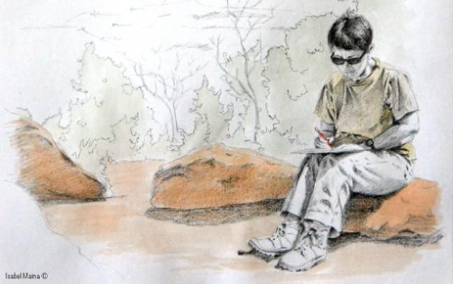 Illustration d'Isabel Maïna