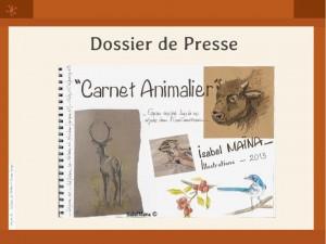 Dossier de presse Carnet Animalier