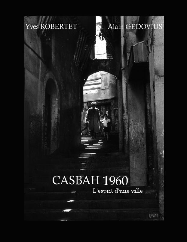 Projet de couverture du livre Casbah 1960