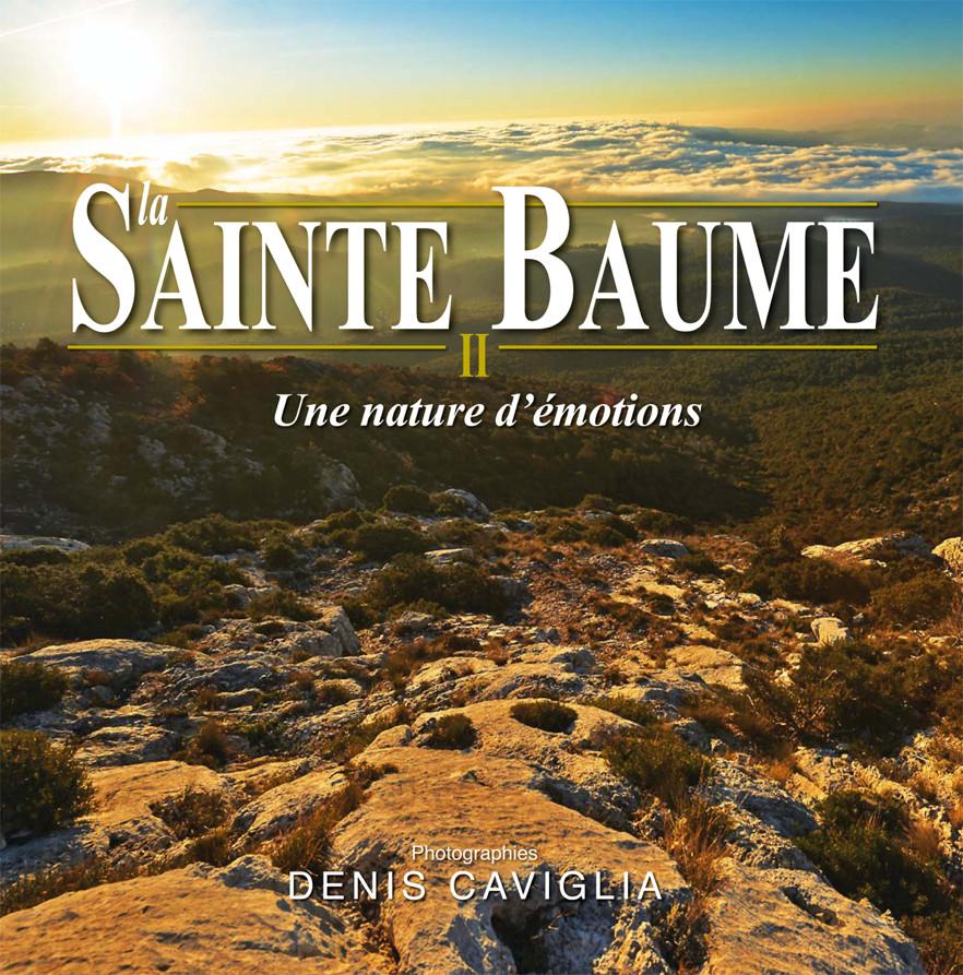 Sainte Baume II, une nature d'émition, Denis caviglia, projet de première de couverture