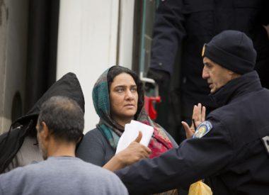 Alain Thirel-Dailly, Réfugiés dans les Balkans, Gare de Sid, Serbie